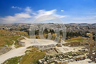 Ruins of Gerasa (Jerash)