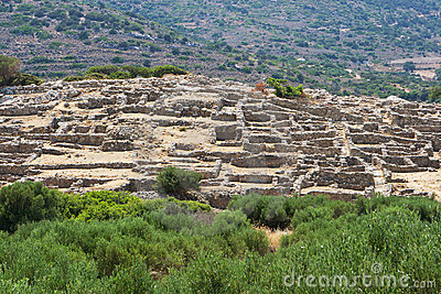 Ruins of Gournia, Crete, Greece