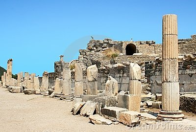 Ruins of greek city Ephesus