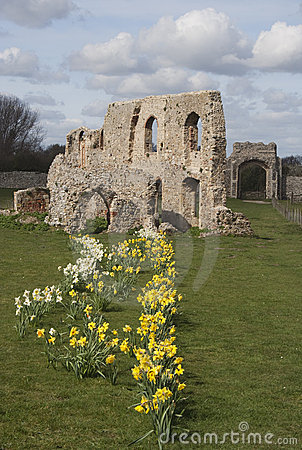 The Ruins of Greyfriars Friary, Suffolk