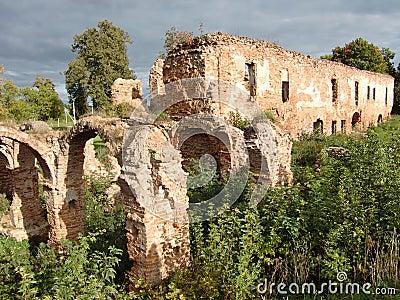 Ruins of Halshany Castle (Belarus)