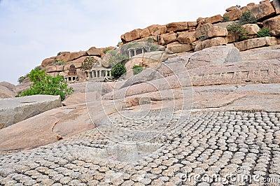 Ruins in Hampi (India)