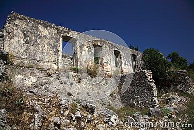 Ruins in Kefalonia
