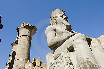 Ruins of luxor temple