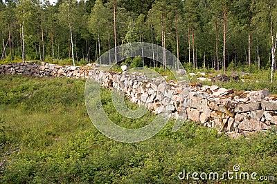 Ruins in Marieholm - Sweden
