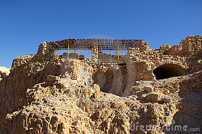 Ruins of Masada fortress