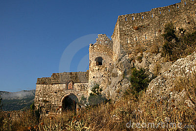 Ruins of a medieval Venetian fortress