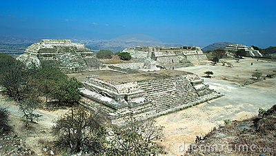 Ruins of Monte Alban.