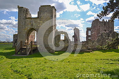 The Ruins of Moreton Corbet Castle