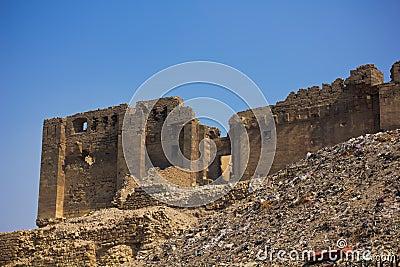 Ruins near Citadel in Cairo