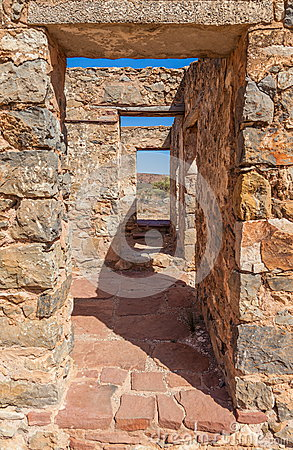 Free Ruins Of Abandon Kanyaka Homestead. South Australia Royalty Free Stock Photo - 34534505