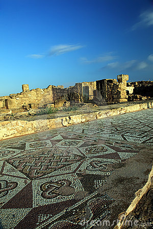 Free Ruins Of Ancient Buildings At Paphos, Cyprus. Royalty Free Stock Photo - 15669655