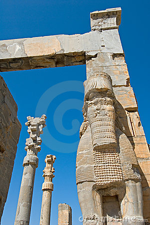 Free Ruins Of Ancient City Royalty Free Stock Image - 2560296