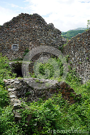 Free Ruins Of Fortress Stock Image - 72767731