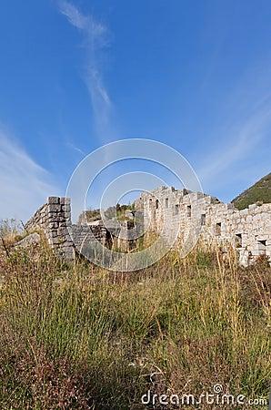 Free Ruins Of Mogren Fort (1860) Near Budva Stock Photography - 67596632