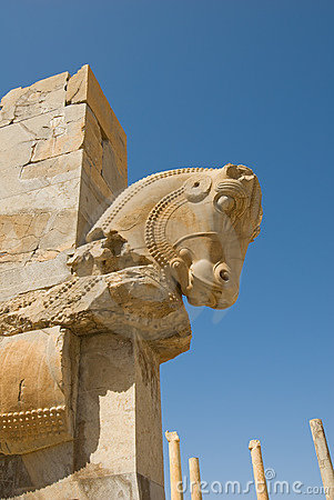 Free Ruins Of Of Persepolis Royalty Free Stock Photo - 4720435