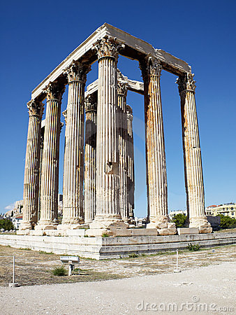 Free Ruins Of Olympian Zeus Temple, Greece Stock Photography - 16792182