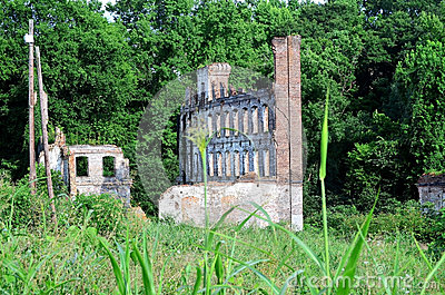 Ruins of Old Factory Mill
