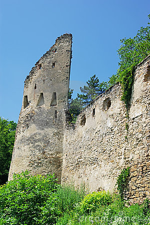 Ruins of old fortress
