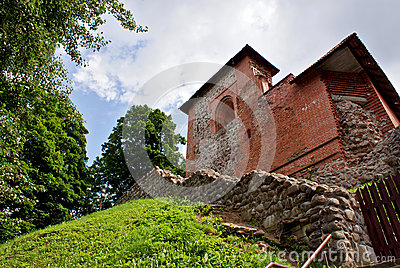 Ruins of the old fortress