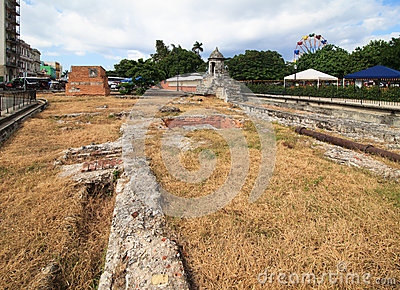 Ruins of Old Havana.