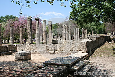 The Ruins of Olympia, Greece