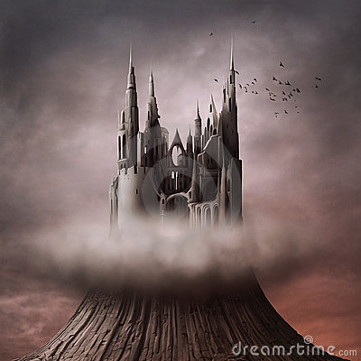 Free Ruins On The Hill Royalty Free Stock Photo - 15639035