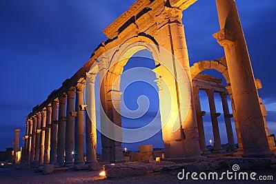 Ruins of Palmira