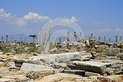 Ruins in Perga