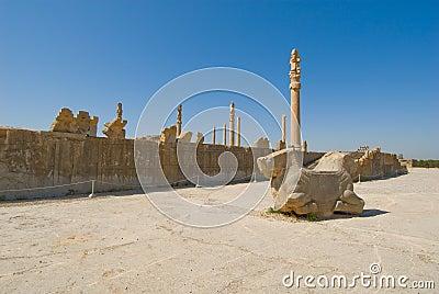 Ruins of of Persepolis
