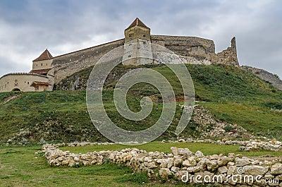 Ruins of Rasnov fortress