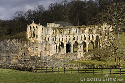 Ruins of Revaux Abbey - England