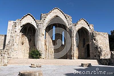 Ruins in Rhodes