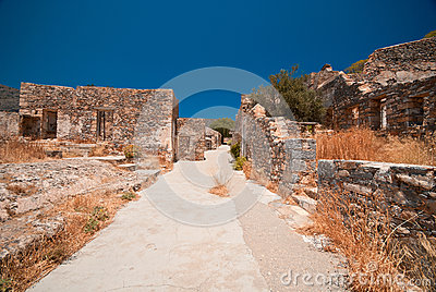 Ruins in Spinalonga