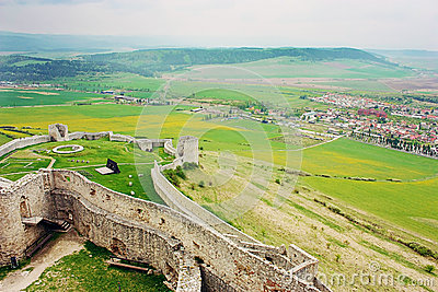 Ruins of Spiss Castle, Slovakia