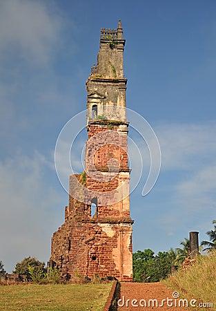 Ruins of St Augustine s Church, Goa, India