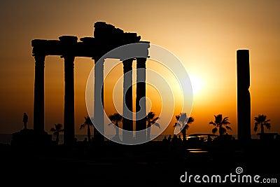 Ruins of temple of Apollo