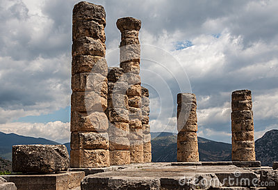 Delphi Greece Temple