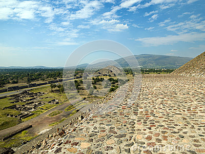 Ruins of Teotihuacan Mexico city