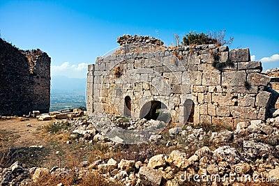 Ruins in Tlos
