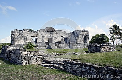 Ruins at Tulum Mexico 2