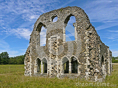 Ruins of Waverley Abbey, Surrey, England