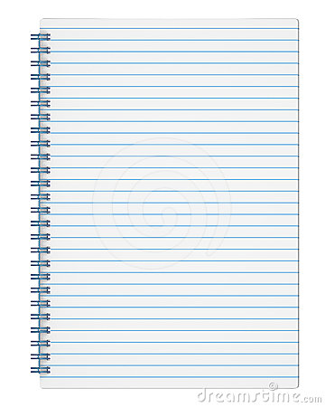 Ruled Copy Book Royalty Free Stock Images Image 24441699