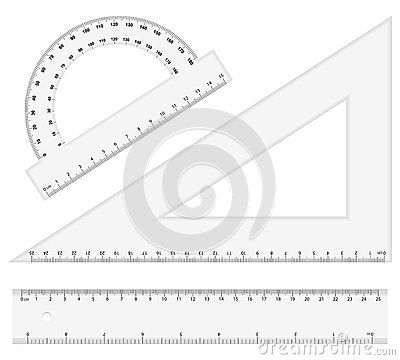 Free Ruler Instruments Royalty Free Stock Images - 26775439