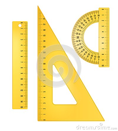 Free Ruler Instruments Royalty Free Stock Photos - 42359298