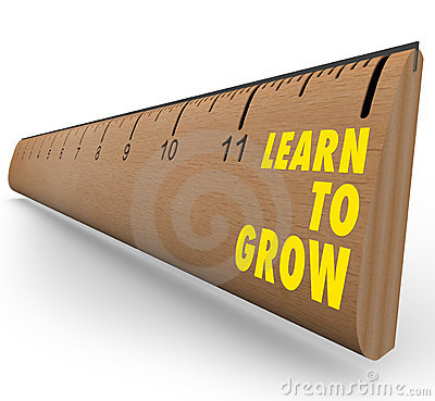 Free Ruler - Learn To Grow Stock Image - 17752361