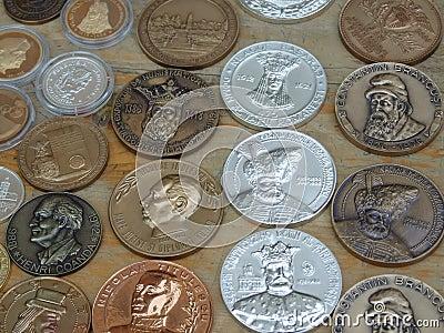 Rumänische Medaillen
