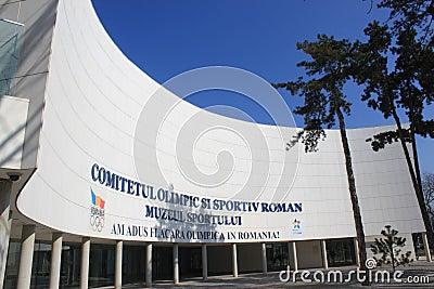 Rumänischer olympischer Ausschuss Redaktionelles Bild