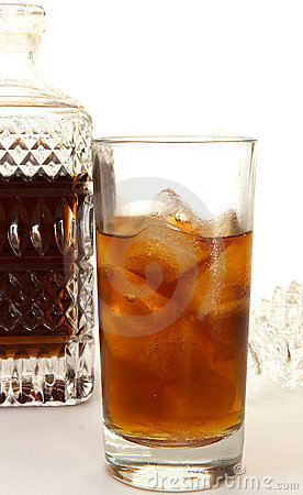 Free Rum And Decanter 1 Stock Photos - 182003