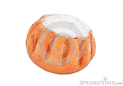 Rum baba cake